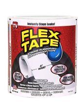 "Flex Tape White 4"" x 5' Flex Seal NEW FREE SHIPPING"