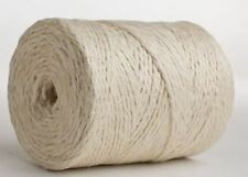 50M White Jute Twine Roll DIY Wrap Gift Hemp Rope Cord String Roll