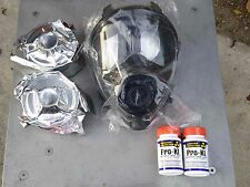 SGE 400 Gas Mask w/2 New 10yr NBC/CBRN Filters Free Ship & Potassium Iodide