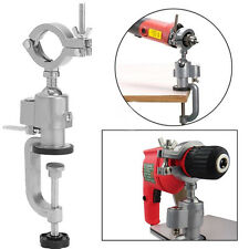 Clamp-on Grinder Holder Bench Vise Vice Electric Drill Stand 360° Rotaring Tools