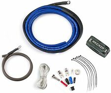 KICKER PK4 CAR AUDIO STEREO 4 GAUGE AWG 4AWG P-SERIES AMPLIFIER AMP POWER KIT