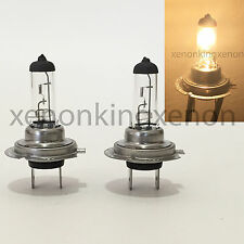 Dot H7 55W Xenon Halogen OEM Stock Headlight 2x Light Lamp Bulbs #z3 Low Beam