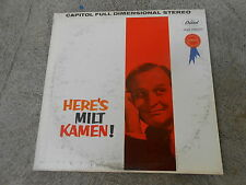 HERE'S MILT KAMEN!-LP-CAPITOL SW 1565-PRODUCED BY MEL BROOKS-GROUCHO MARX