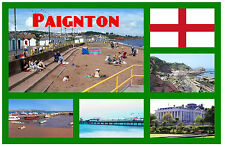 PAIGNTON, DEVON - SOUVENIR NOVELTY FRIDGE MAGNET - SIGHTS - BRAND NEW - GIFT