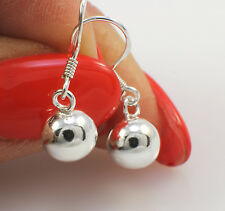 Wholesale Price, Sterling Silver Dangling 8 mm Ball Earring