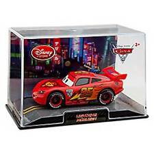 Disney Store Cars 2 Lightning McQueen Die Cast In Collector's Case