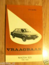 MAZDA 323 1980-1984 MODELS VRAAGBAAK TECHNICAL INFO