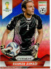 2014 World Cup Prizm Blue Red Wave Parallel Card No.121 R.Ahmadi (Iran)