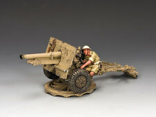EA087(BR) 25 Pdr. Field Gun (British) by King & Country