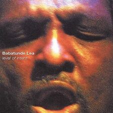 1 CENT CD Level of Intent - Babatunde