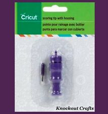 CRICUT Scoring Tip with Housing 2001330 ~ New in Packaging ~ KNOCKOUT CRAFTS