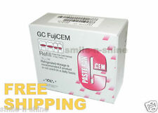 GC FujiCEM Resin Reinforced Glass Ionomer Luting Cement Fuji CEM Refill Pack