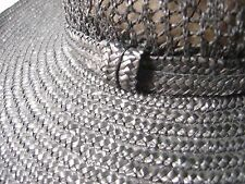 LADIES WIDE BRIM chic straw HAT FOR WEDDINGS/RACES HARVEY NICHOLS