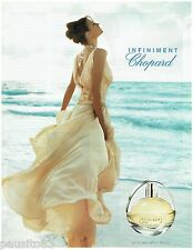 PUBLICITE ADVERTISING 115  2004  CHOPARD   pafum femme INFINIMENT
