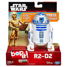 NEW HASBRO DISNEY STAR WARS R2-D2 BOP IT! GAME B3455