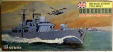Pit-Road M-10: HMS Destroyer D89 Exeter, Wasserlinienmodell in1/700, N E U & OVP