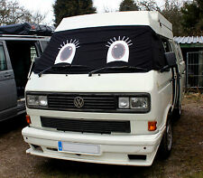 VW T25 Window Camper Van Screen Curtain Wrap Cover Girl Eyes Lashes Transporter