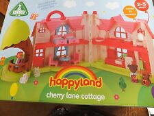 Happyland - Cherry Lane Cottage - Childs Playset - Suitable Ages 2-5 Years