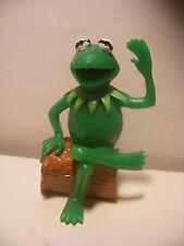 Figurine Vintage 1982 PVC COMICS SPAIN MUPPET SHOW figure KERMIT Frog