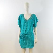 Dorothy Perkins - Teal Embellished Sleeveless Blouse - UK 18 - New With Tag