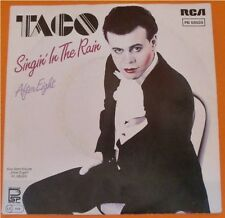 """TACO Singin' In The Rain / After Eight, 7"""" Single, 1982"""