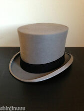 Herbert Johnson of Bond Street English Gentleman's Vintage Top Hat Topper