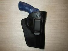 Fits: Ruger sp101 357, ambidextrous formed leather revolver holster