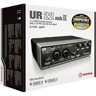 Steinberg UR-22 MKII USB Audio Interface with Cubase AI Cubasis LE **BRAND NEW**