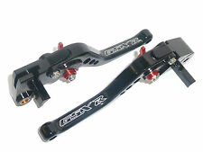 SUZUKI GSXR1000 2005-2006 K5-K6 BRAKE & CLUTCH LEVERS BLACK RACE TRACK ROAD S6ZA
