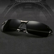 Men's HD Polarized Sunglasses Driving Eyewear Best Fishing  Night Vision Glasses