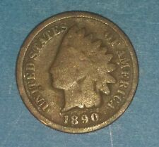 1890 Indian Head Cent   ID #52-50