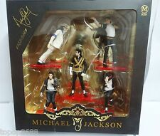 #Ts1~  lot of 5 Michael Jackson best dance moves Figure set 9cm-11cm high