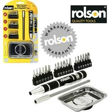 ROLSON Precision Jewelers Style Screwdriver + Metal Magnetic Parts Tray   DB43