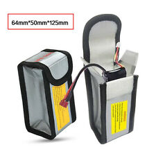 RC LiPo Battery Fireproof Safety Guard Protection Bag Charging Sack 125x64x50mm