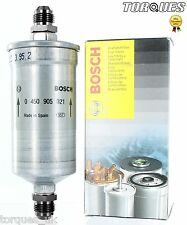 Bosch 0450905021 AN-8 (JIC -08) High Performance Fuel Filter 8 Micron In Black