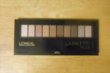 1 palette LOREAL LA PALETTE EYE SHADOW NUDE 1 1001 WAYS TO WEAR NUDE unsealed