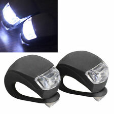 Classic 2pcs Bicycle Cycling Head Front Rear Wheel LED Flash Safety Light Lamp