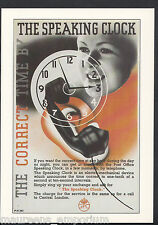 Advertising Postcard - The Correct Time By The Speaking Clock    BH6162
