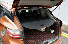 Rear Trunk Shade Cargo Cover for 2015 2016 Nissan Murano Black Cargo Nets