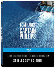 CAPTAIN PHILIPS - LIMITED STEELBOOK EDITION (BLU-RAY) 4K DEFINITION, Tom Hanks
