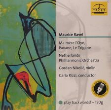 TACET - L-977 - RAVEL - PAVANE - RIZZI - PLAY BACKWARDS! - PALINDROM