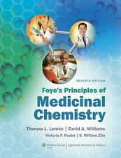 Foye's Principles of Medicinal Chemistry by Lemke (2012, Hardcover, Revised)