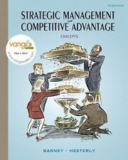 Strategic Management and Competitive Advantage: Concepts (2nd Edition)