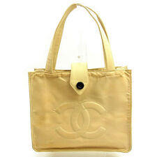 Auth Chanel Tote Bag Coco Marco Women''s Men''s Yes used J15073