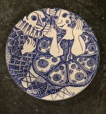"""Vintage Nymolle Bjorn Wiinblad 6"""" Plate Danish"""