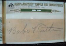 BABE RUTH  AUTO 1 OF 1 2011 SP LEGENDARY CUTS NEW YORK YANKEES RARE