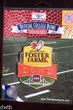 Official NCAA College Football Foster Farms Bowl 2016/17 Patch Indiana Utah