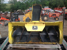 """John Deere 38"""" Snow Blower for Lawn Tractor Mowers - Used"""