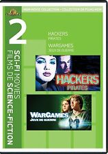 Hackers / WarGames (DVD)  NEW