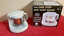 BABYBREEZA ONE STEP BABY FOOD MAKER STEAMER GRINDER BRZ9043 TESTED